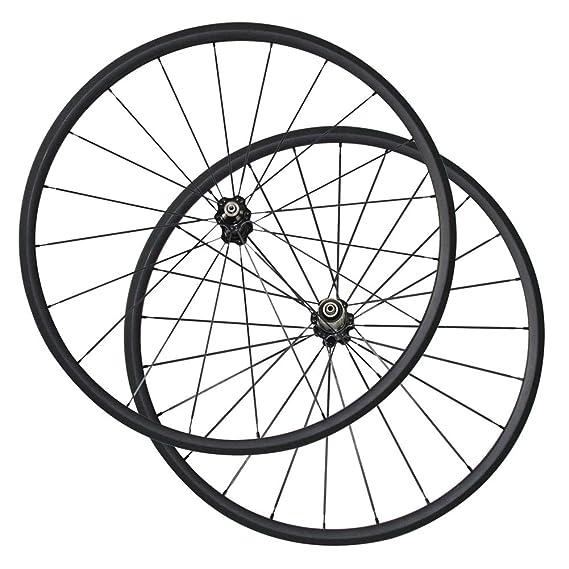 Ruedas para Bicicleta, 700C Carbon Rim A271SB F372SB Hub CN494/Pillar 1423/Pillar 1432 Radios 24/38/50/60/88 mm Clincher Bicicleta: Amazon.es: Deportes y ...