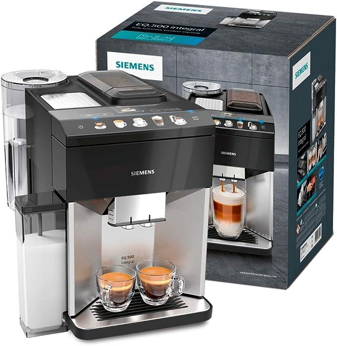 Siemens EQ.500 Integral Cafetera automática, 1500 W, 1.7 litros ...