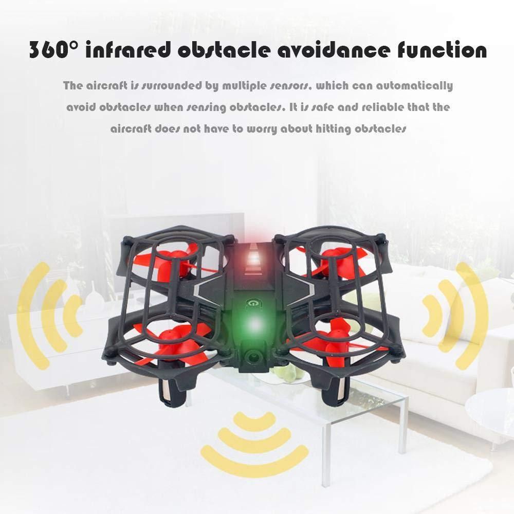 Telecomando con Sensore Orologio UFO Micro Quadricoptero LED Lampeggiante per pi/ù di 14 Ragazzi e Ragazze Idea Regalo Tenlso Mini Drone UFO per Bambini