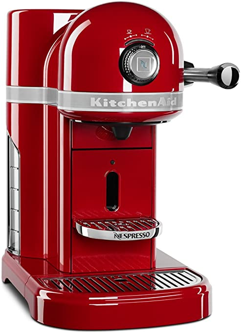 Amazon Com Kitchenaid Nespresso Asistente De Cocina Empire Red