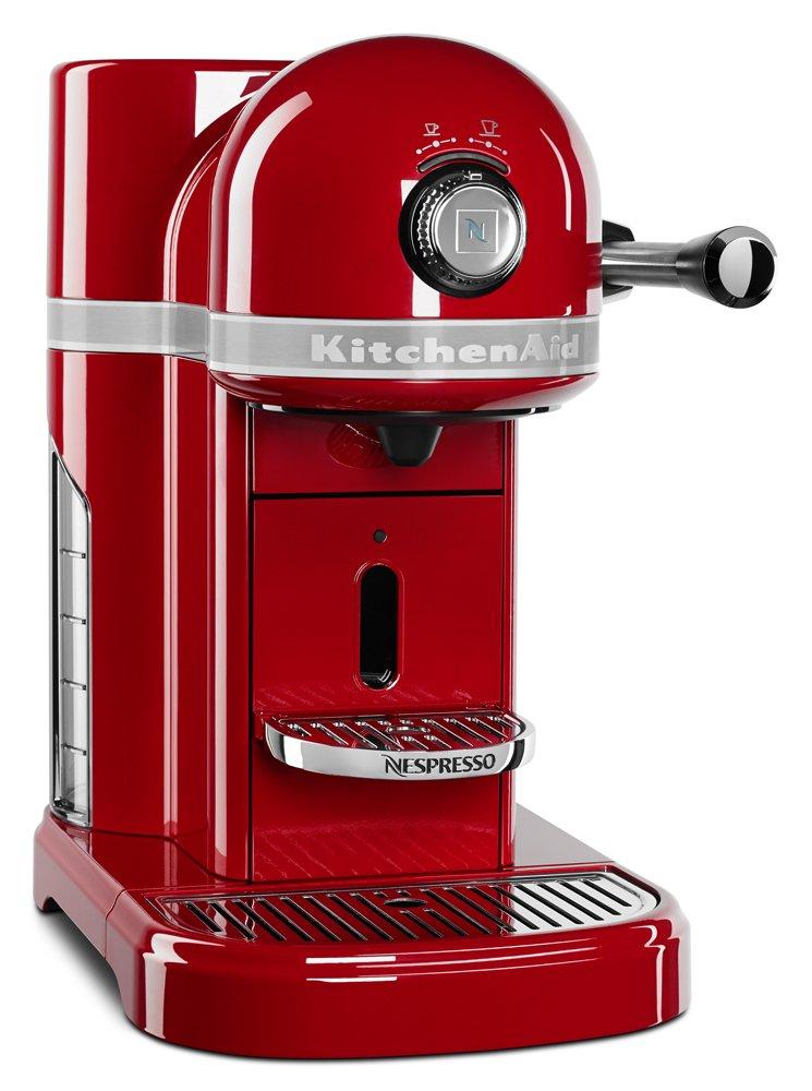 Amazon.com: KitchenAid Candy Apple Red Nespresso Espresso Maker ...