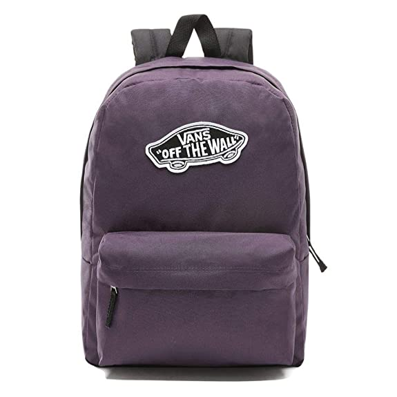 Mochila Vans Realm Backpack Mysterioso Morado Sin Talla: Amazon.es: Zapatos y complementos