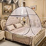 Szuperstuff Portable Mosquito Net for Bed,Pop Up Mosquito...
