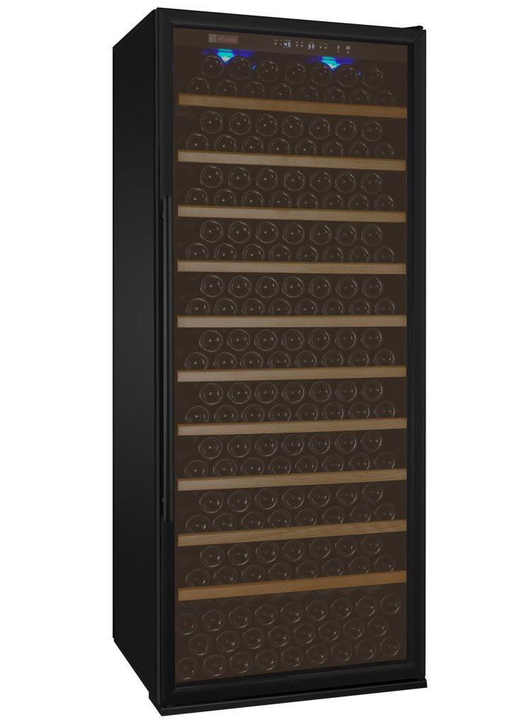 Allavino YHWR305-1BRT 305 Bottle Single-Zone Wine Cellar Refrigerator - Right Hinge Black Door