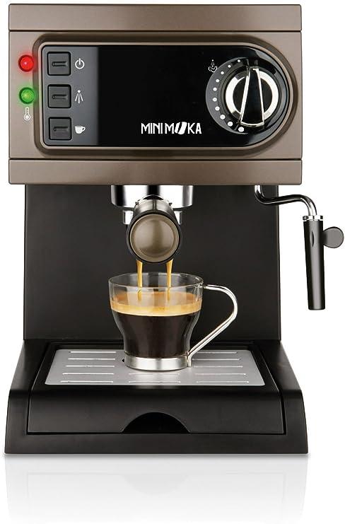 Mini Moka CM-1622 - Cafetera espresso manual, apta para monodosis ...