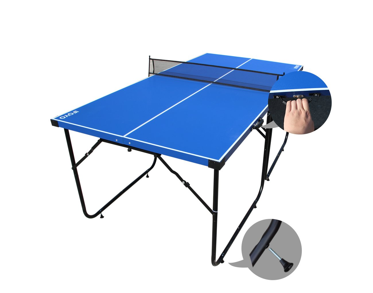 Table Tennis Table Midsize Ping Pong Table 6ft Compact