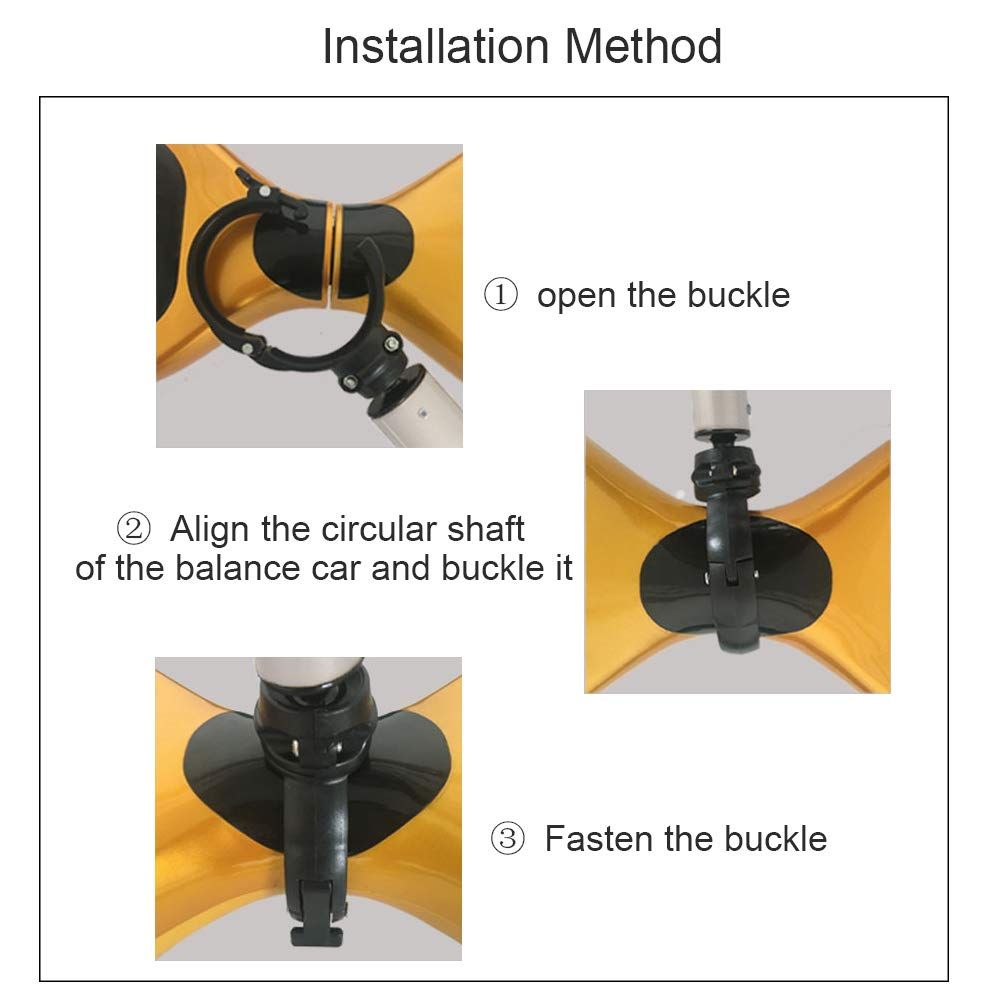 Tmalltide Handle Control Strut Stent for 6.5 7 10 Electric Self Balancing Scooter