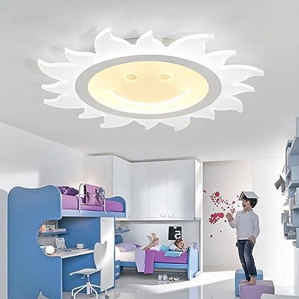 Amazon.com: PLLP Ultra-Thin Led Ceiling Lamp Children\'S Bedroom ...