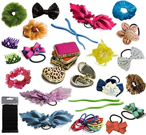 Hair Accessories for Girls - Hair Clips - Pocket Mirror -