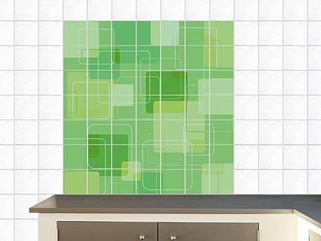 Adesivi per piastrelle immagini per cucina destra angolo quadrati