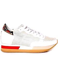 01b2e39b648d Philippe Model Chaussures Baskets Sneakers Femme Paris Bird Or ...