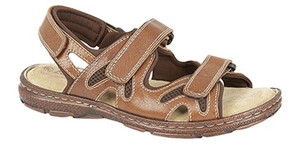 Roamer - Sandalias de vestir para hombre UK Mens Size 7|marrón - marrón