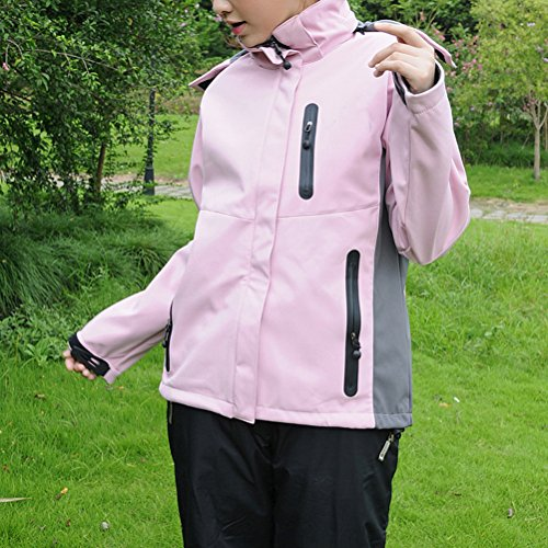 Qualité Mountaineering Hot Waterproof Womens Breathable Laixing Hoodies 1122 Jackets For Pink Outdoor Haute UwxYqqE1I5