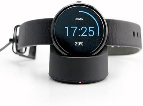 Cargador inalámbrico, base de carga Qi para smartwatch Motorola ...