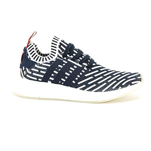 00eca40b1b97 Image Unavailable. Image not available for. Color  adidas Men NMD R2  Primeknit (Navy Collegiate Green Footwear White)