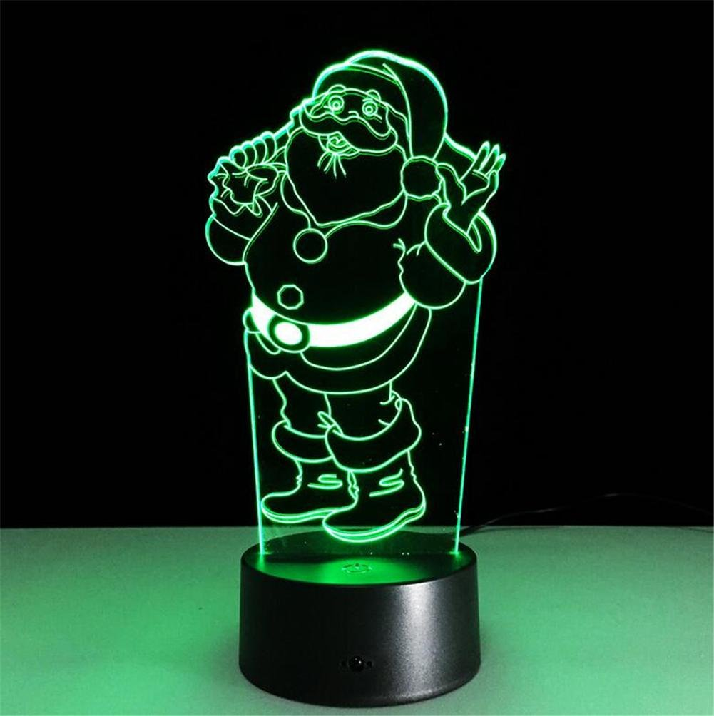 Lucky Clover Anoel 3d Led Illusion Lampe 7 Couleurs A Telecommande