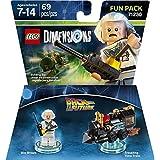 Warner Bros Lego Dimensions Doc Brown Fun Pack