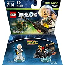 Warner Bros Lego Dimensions Doc Brown Fun Pack - Back to the Future Doc Brown Fun Pack Edition