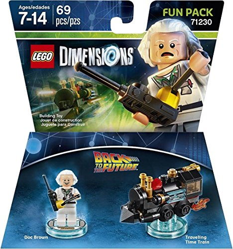 Price comparison product image Back to the Future Doc Brown Fun Pack - LEGO Dimensions