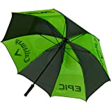 "Callaway Callaway Golf Umbrella (68"", Double Canopy, Green/White/Charcoal, Manual Adjustment) 5919049, Green/White/Charcoal"