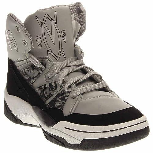 Adidas Men's Originals Mutombo Basketball Shoes GreyBlack