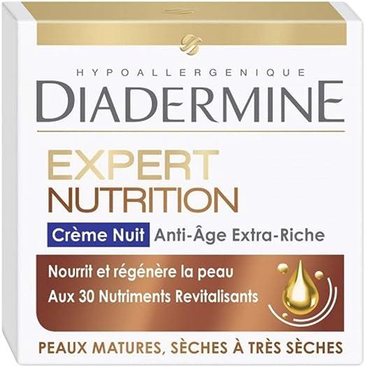 DIADERMINE Pack Diadermine - Crema de noche antinutrición ...