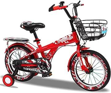 MLSH Bicicleta for niños con Ruedas de Entrenamiento al Aire Libre ...
