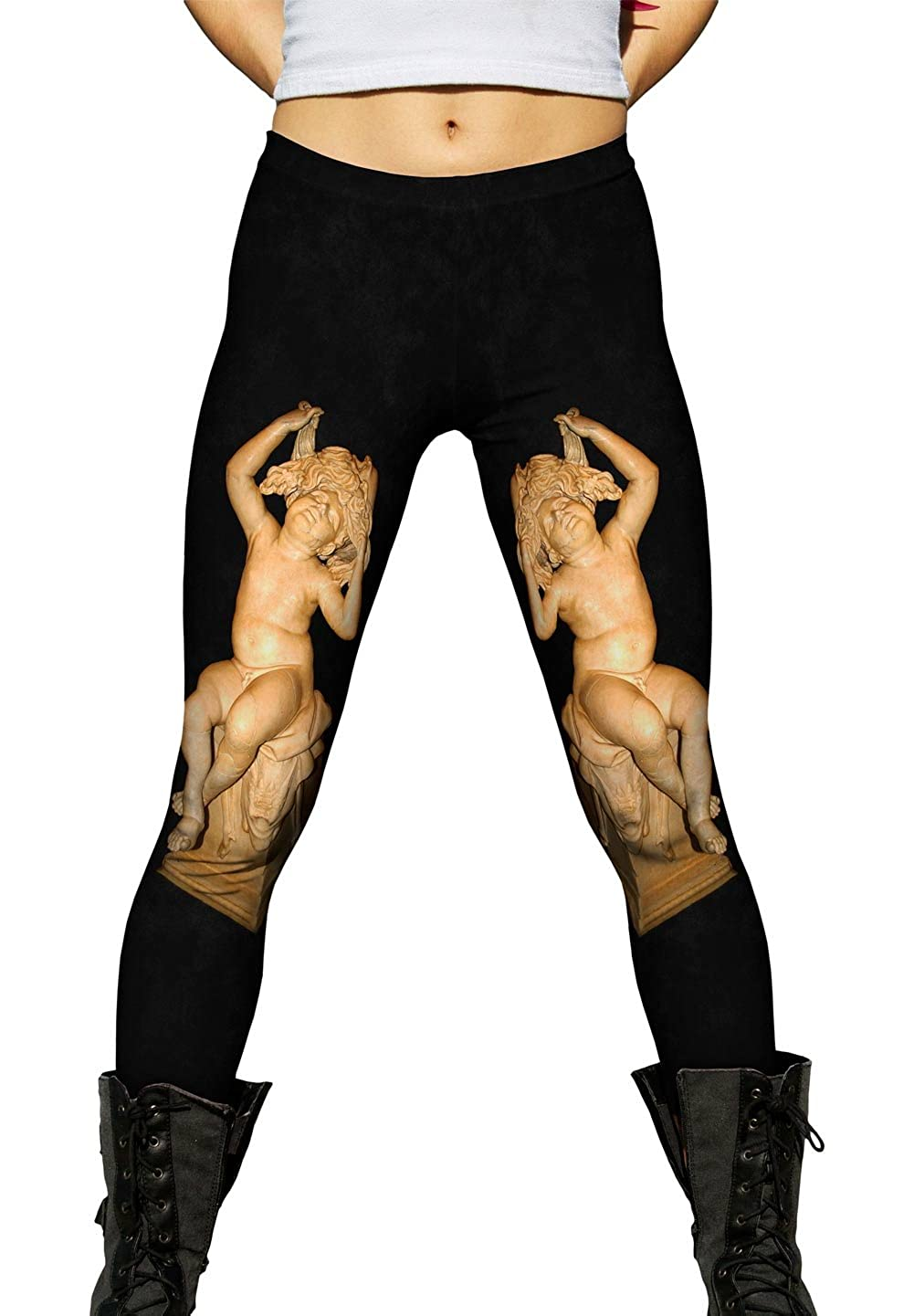 Museums Capitolini Yizzam -New Ladies Womens Leggings 2779 The Child Cove