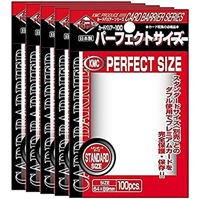 KMC NEW Card Barrier 100 Perfect Size 5 pieces set (japan import): Toys & Games