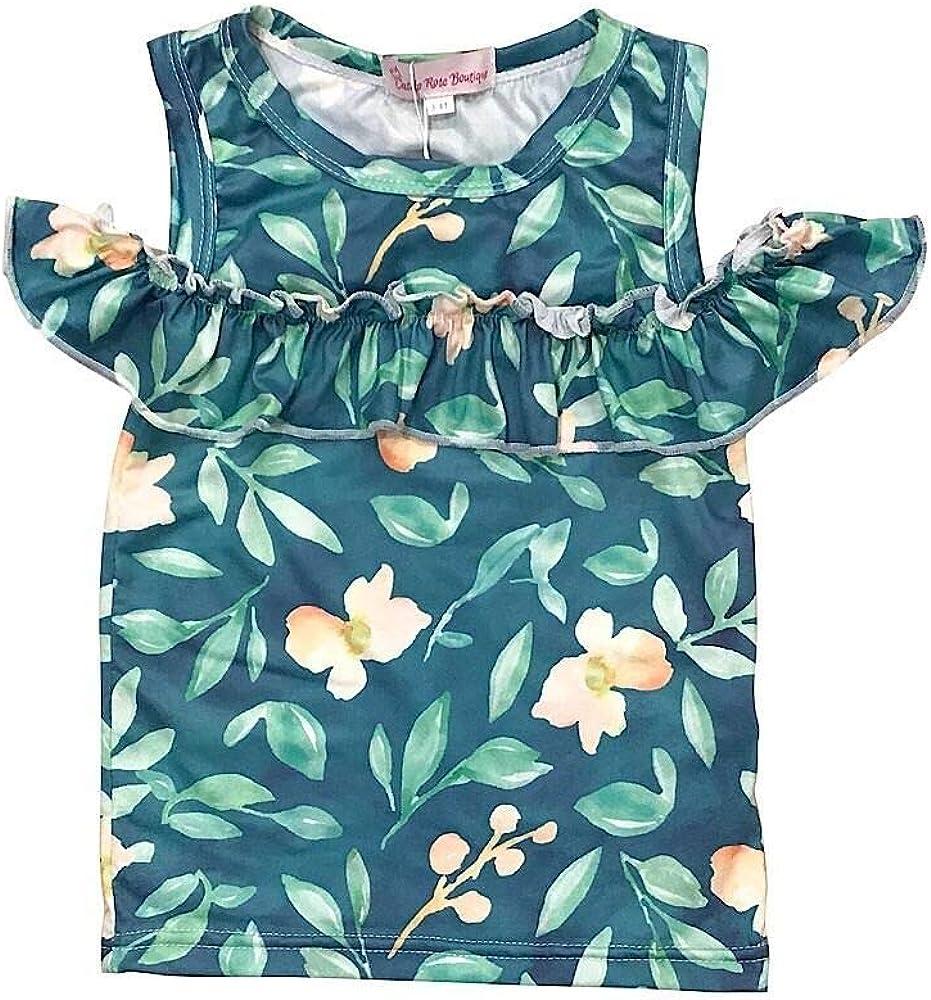 Castle Rose Boutique Baby /& Toddler Girl Tops