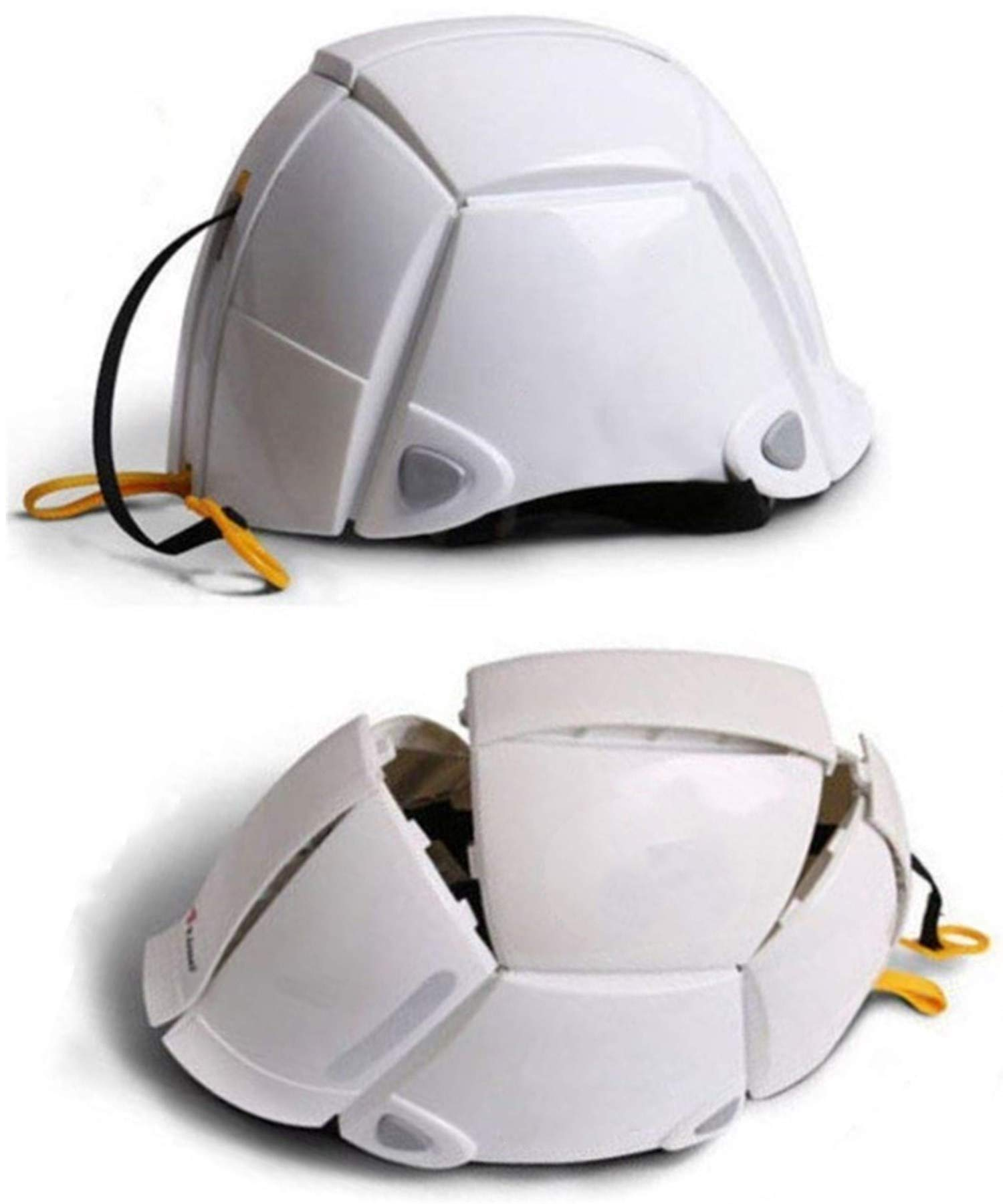Folding Safety Helmet Bloom Outdoors Workplace Earthquake Helmet Offices Public Facilities of Disaster Helmet Hardhats