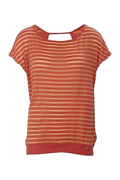Gaudi Camiseta Resort Chic, Color: Coral, Tamaño: M