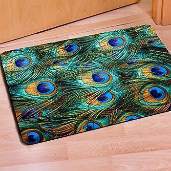 Delicieux Fashion Peacock Door Mats Indoor Bathroom Kitchen Decor Rug  Mat,Indoor/Outdoor Floor Welcome Doormat By Horeset