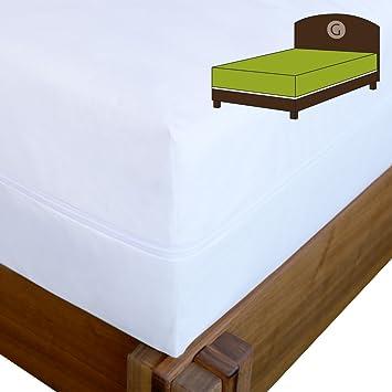 Artículos de cama de cama con somier de Shop Evolon colchones Tauro, 70 % poliéster, 30 % poliamida, 90x200x30 cm: Amazon.es: Hogar