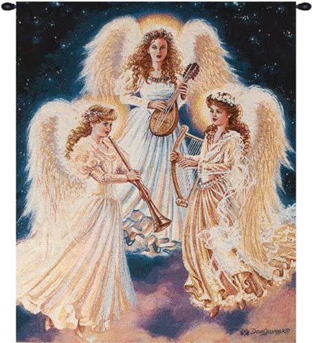 Tapeçaria de arte de coro de anjos | Amazon.com.br