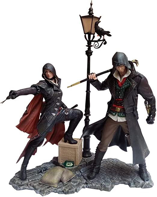 Amazon Com Xinxin Assassins Creed Jacob Frye Figure Evie Frye Twin Brothers And Sisters Set Toys Games