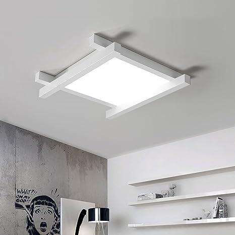 Lampade A Soffitto Led.Lampada Da Soffitto Led 40 W Moderno Design Quadrato Lampada