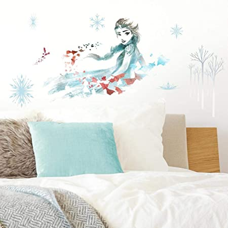 "FROZEN DISNEY ANNA 39/"" Giant Wall Decals Room Decor Stickers Kids Decorations"