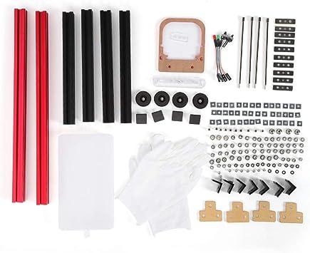 Wendry Estuche DIY Mini M-ATX, Marco Abierto, aleación de Aluminio 20 * 20, desmontaje liviano y Conveniente, Marco de aleación de Aluminio Abierto Mini DIY M-ATX Motherboard PC Computer Case: Amazon.es: Electrónica