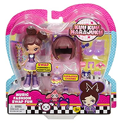 Mattel Kuu Kuu Harajuku Fashion Swap Fun Music Doll: Toys & Games