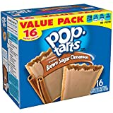 Kellogg's Brown Sugar Cinnamon Pop-Tarts Toaster Pastries, 16 ct