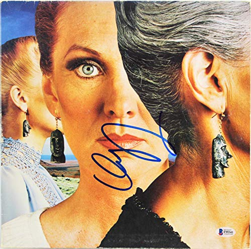 Dennis Deyoung Styx Signed Pieces Of Eight Album Cover W/Vinyl BAS #F99341 - Beckett Authentication