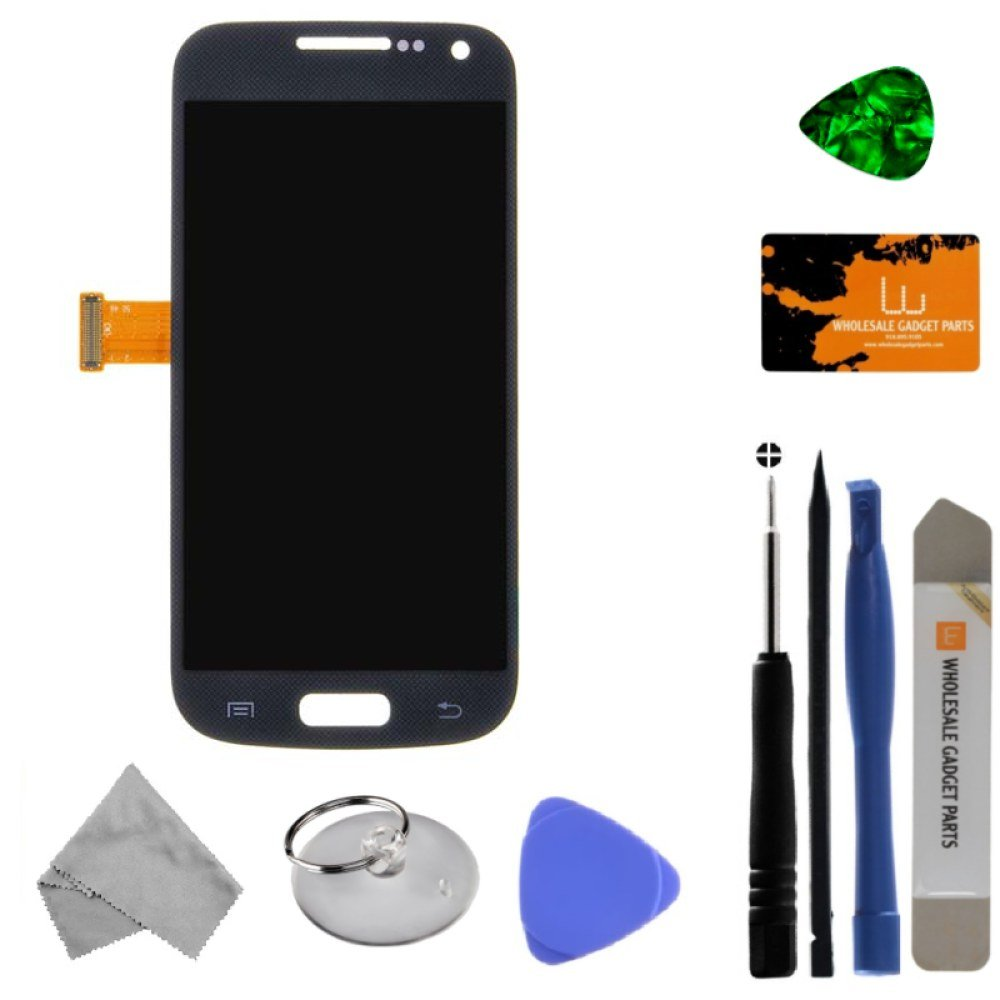 LCD & Digitizer Assembly for Samsung Galaxy S4 Mini (Blue) (Aftermarket - Without Samsung Logo) with Tool Kit