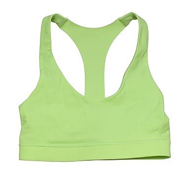 e4c31fd39f3 Lululemon Clear Mint Break Free Bra 10 at Amazon Women s Clothing store