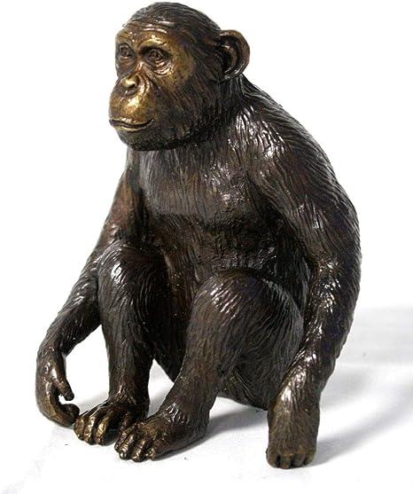H. Packmor GmbH - Figura de Bronce con chimpancé (Silueta de ...