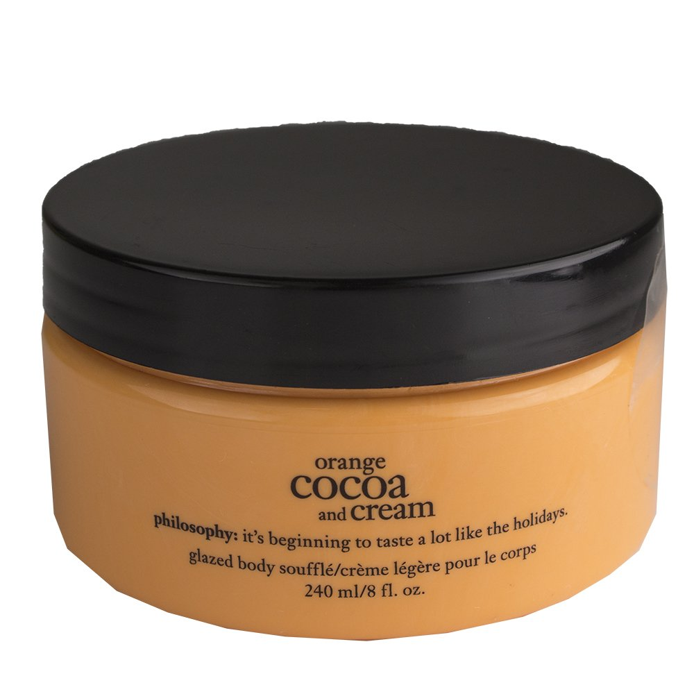 Philosophy Orange Cocoa and Cream Glazed Body Souffle 8 fl. oz Coty Prestige 6047