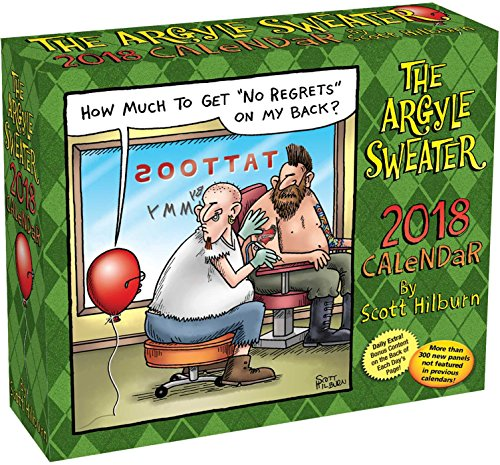 The Argyle Sweater 2018 Day-to-Day Calendar by 2018 Calendars (Image #5)