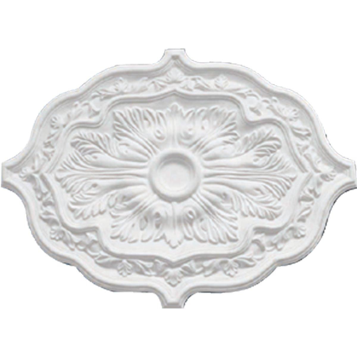 Ekena Millwork CM36PE Pesaro Ceiling Medallion 36 inch Od x 1 2 inch P Pesaro Ceiling Medallion