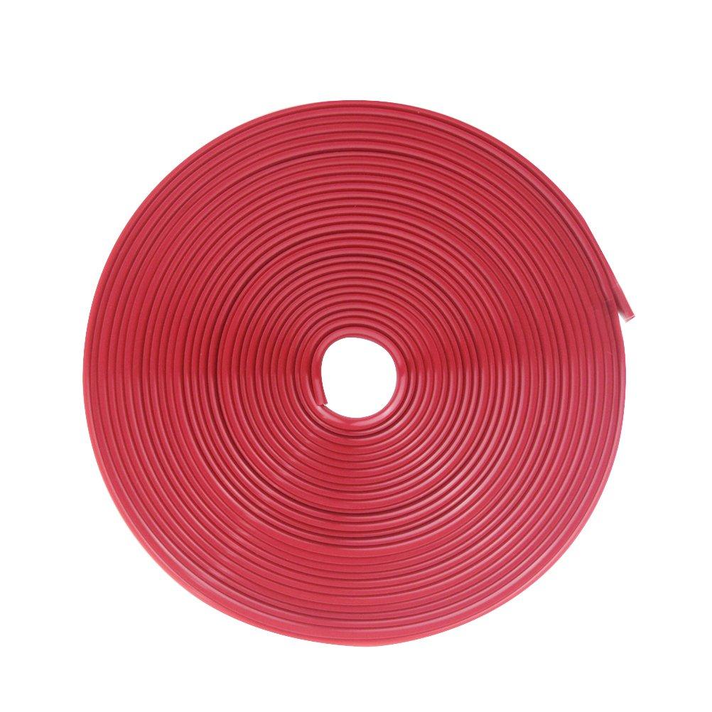 WINOMO Striscia Adesive Ruota Cerchi Auto Moto 8M (Rosso Brillante) 561826RB5L17O81F14MZ