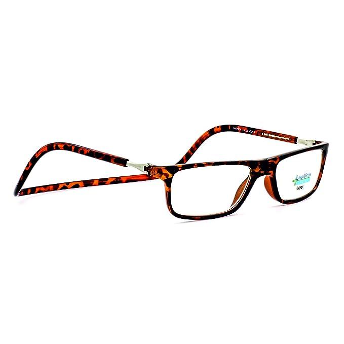 Occhiali Da Vista Per Lettura In Metallo Marca Isurf Eyewear Linea Vision Per Presbiopia Semplice Da Vicino +1,50, Blu